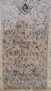 Wells Lodge Cornerstone